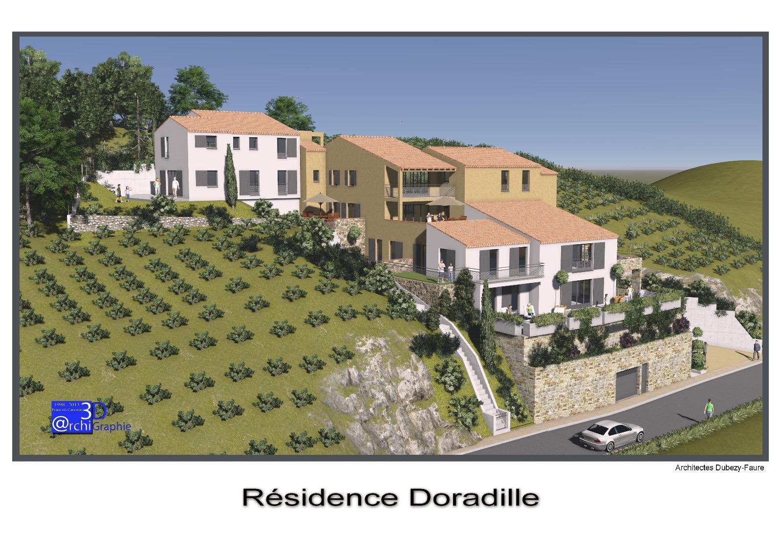 Neuf residence de 6 appartements f4 collioure for Residence neuf